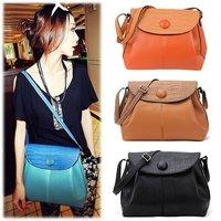 Lady handbags 2012 Elegant PU leather shoulder bag