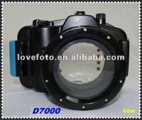 Newest underwater diving housing Camera Waterproof Case for Nikon D7000