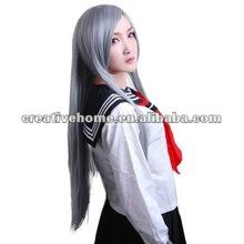 Chang magic night Lee Langya Cosplay Party Long Silver Grey Wig