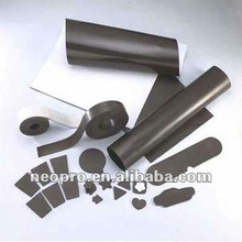 The pvc rubber sheet magnet