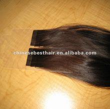AAAA human hair skin weft for hair extension