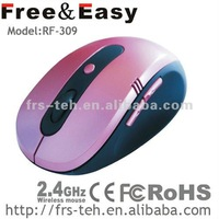 RF-309 2.4G 6d wireless mouse with NANO receiver