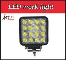 2800LM 4inch ATV 48W LED work lamp headlight for machine truck tractor light