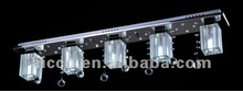 2012 hot sell popular modern RGB LEDcrystal ceiling pendant