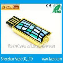 2012 most fashionable Enamel element novelty shape usb flash drive