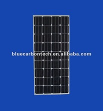 CE approved photovoltaic mono solar panel 130w