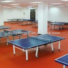 pvc vinyl flooring roll,sport flooring for table-tennis court