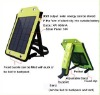 Mobileohone laptop solar charger bag with battery