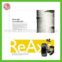 luxury moto printing magazine production