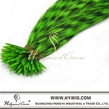 Cheap hair feathers synthetic hair extension,synthetic fiber hair extension