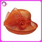 Formal Sinamay Church Wedding Hat RQ-01BJ36