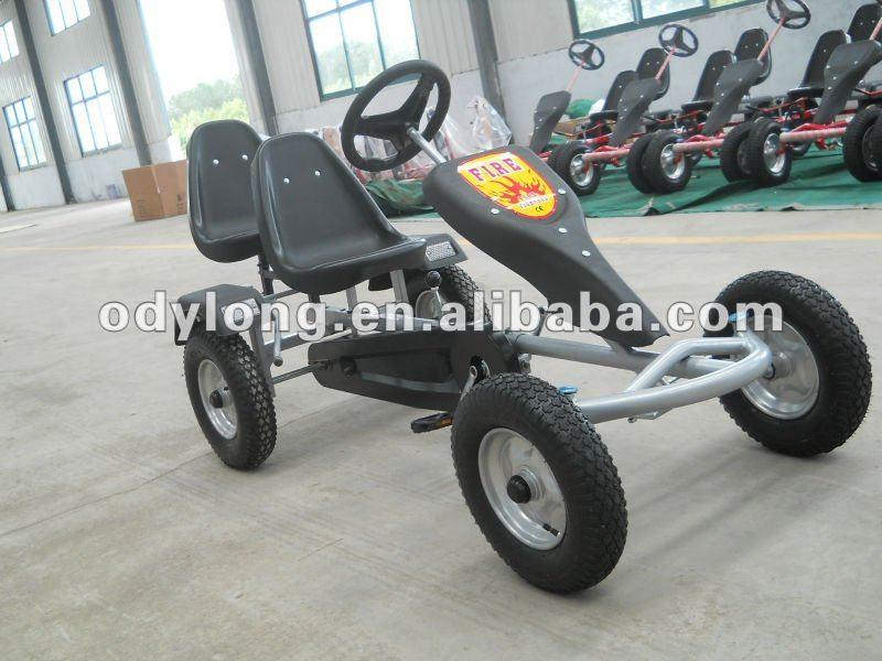 Ajustable posición del asiento para diferentes personas, venta caliente baratos go kart buggy, playa de arena carrito, dos asiento del pedal kart f160ab