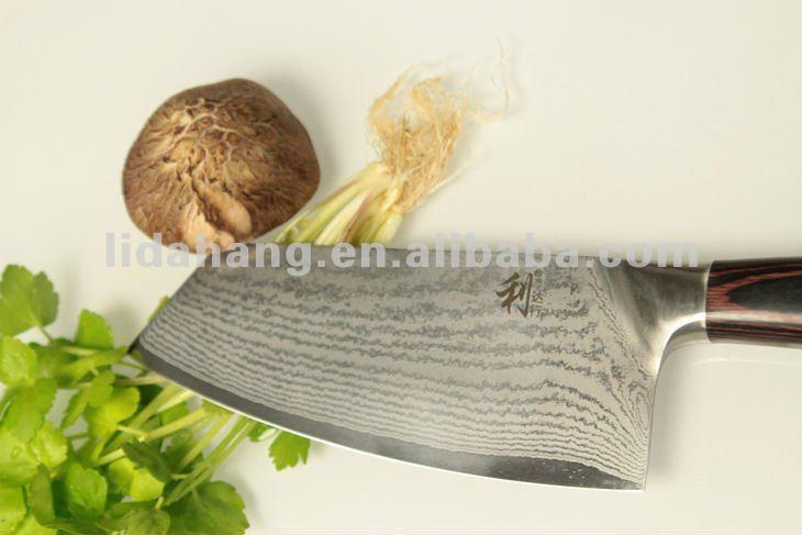 [2012 Newest ] High Quality Sharp Damascus Handmade Knife