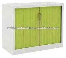 Good knock down steel roller shutter door storage filing cabinet