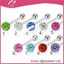 2012 Tongue crystal balls