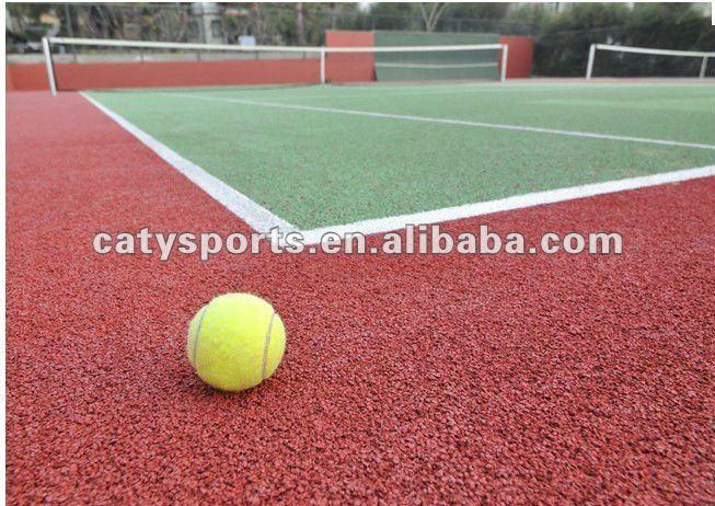 Court de tennis caoutchouc surfaces epdm id du produit for Revetement court de tennis