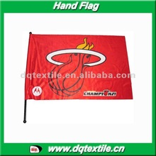 Miami Heat Hand shaking Flag