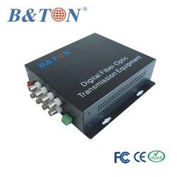 8V1D Fiber transmitter and Receiver / RCA to Optical Converter