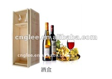 Wine box package wooden