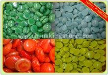 Decorative glass gems factory