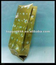 Aluminum foil packaging bag for tea packaging/side gusset tea bag