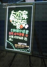 2012 top sell led hand writing board with CE and RoHS certificates