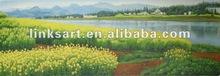 rural scenery oil painting