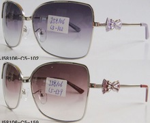 2012 Langtemeng women metal sunglasses with butterfly temple