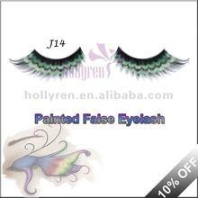Painted Cosmetic Eyelash colorful false eyelashes (J14#)