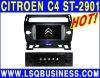 LSQ Star touch screen rds citroen c4 dvd player gps