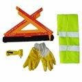segurança epi emergência carro triângulo de advertência sinal para na estrada