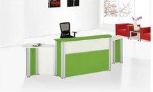 2012 hot sale TG012 office furniture commercial glass front desk