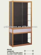 aluminum and glass display cabinets