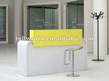 Comfortable&lovely hotel/motel center Artificial marble modern saloon reception desk