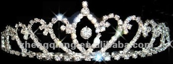 Wholesale latest bridal wedding crown/tiara