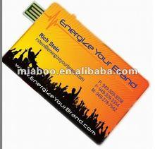 Factory Price 100% Full Capacity original Flash Memory Disk Business Card for Custom Logo-Free Sample