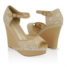 lady wedding high heels bridal fancy sandals