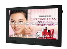 With rechargable battery elevator lcd advertising