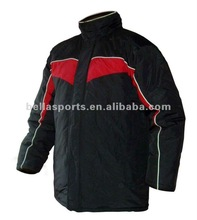 2012 custom cheap blank black-red windproof jacket for men paypal(1J756)