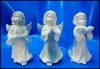 white porcelain angel figurine