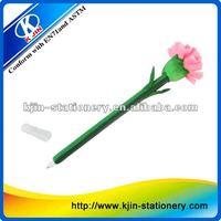 plastic ball pen machine,flower ball pen with paper box