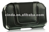 New Black Horizontal Leather Belt Clip Holster Pouch Case for Apple iPhone 5
