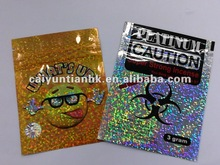 HOT SALE-NEW STYLE herbal incense bag/stock tobacco pouch with laser