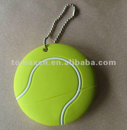 USB 2.0 PVC tennis ball usb flash pendrive tennis usb