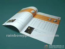 2012 Advertising Brochure Catalogue Professional Printing Catalogue