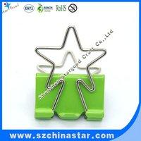 Star shape handle 32mm binder clip