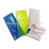 Reusable freezer gel packs hot cold pad