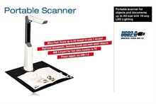 Professional Design Flatbed Scanner Capture Size Up to A4 ADK-PS200