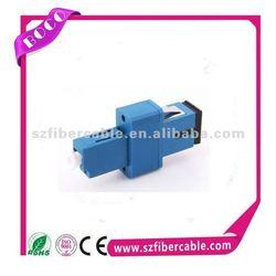 Various option singlemode simplex sc lc optical fiber adapter