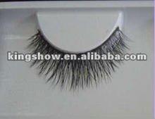 2012 best seller full hand tied 100% real siberian real mink fur eyelash